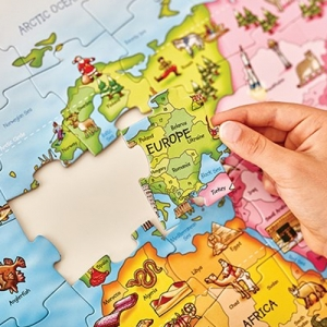 Map Puzzle Manufacturers in Delhi