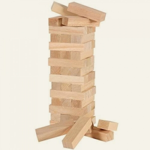Wooden Tumbling Tower Manufacturers in Lucknow