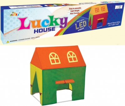 Lucky tent house