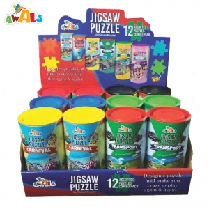 Jigsaw Puzzle (Round Box) Manufacturers in Gujarat